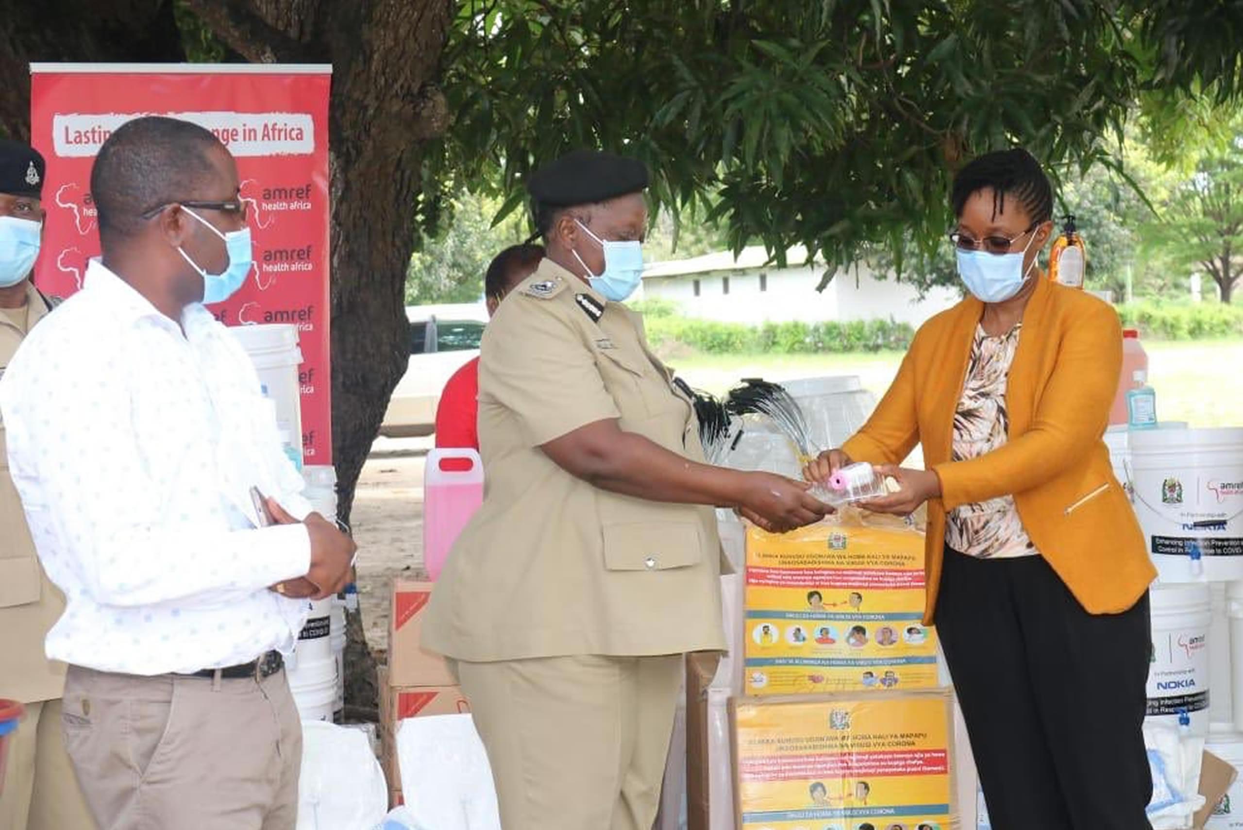 Amref Tanzania Coronavirus disease (COVID-19) Africa Information Centre