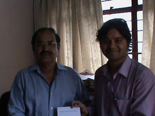 Dr. Rao, Registrar, Karnatak State Women's University, Bijapur