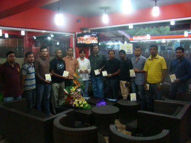 Authors of Get a Job WITHOUT an Interview with CEO & Founder, Narasimha I Darshan, Businessman I Philip, Cuppa Koramangala I Sudhir, Programme Manager at Helix Biolabs