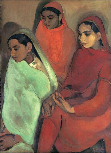 amrita_sher-gil_group_of_three_girls