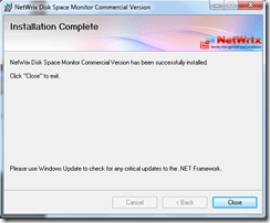 Setting up Netwrix Disk Space Monitor tool (6/6)