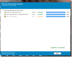 Installing Toad For Oracle in windows 7 (4/6)