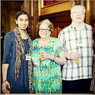 2011: Mr Speakers reception in Houses of Parliament - With Holocaust Survivor Josef Perl and his wife