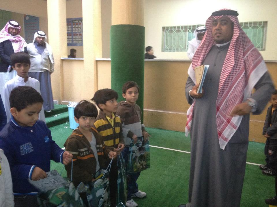 تكريم الطلبة المتفوقين مدرسة عمرو بن العاص الابتدائية