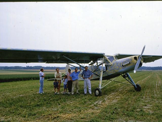 Robert DENIZOT et Fieseler Fi 156 Storch_F-BDXM