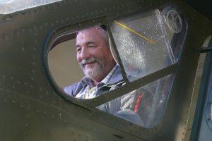 En 2017 retour au poste de pilotage de son Broussard