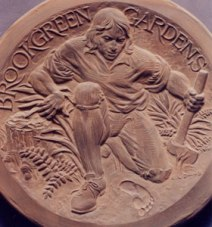 Brookgreen Sculpture Garden Medal (model)