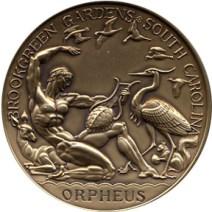 Brookgreen Gardens Orpheus - Obverse