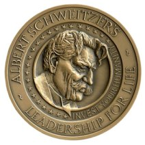 The Albert Schweitzer Leadership for Life Foundation Medal