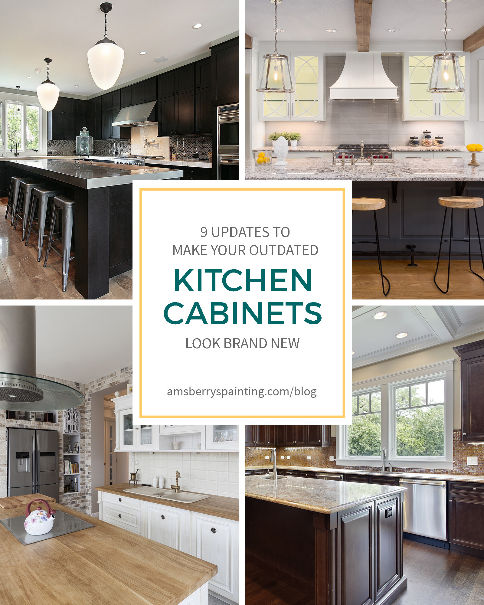 9 Upgrades To Make Your Outdated Kitchen Cabinets Look Brand New