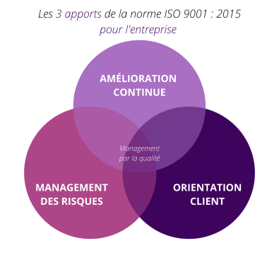 Infographie Norme ISO 9001