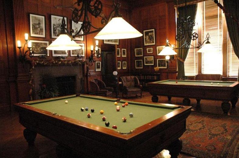 Billiard Room at Biltmore