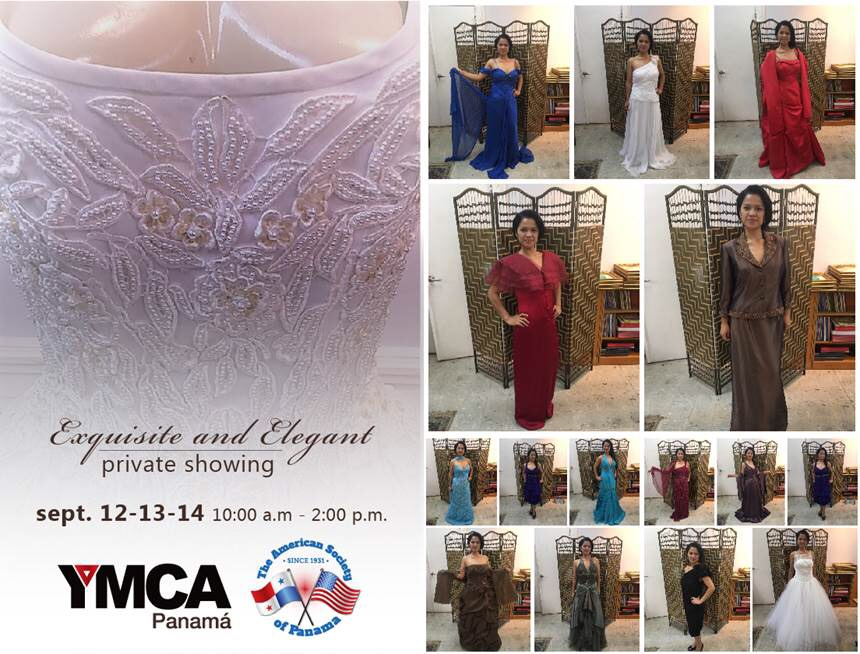 YMCA Private showing dresses Sep 2017