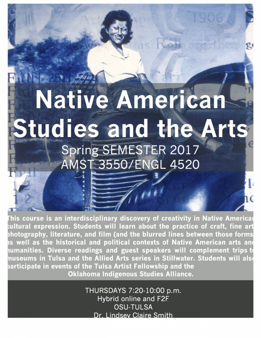 AMST3550-ENGL3813 Native Arts ad Cultures