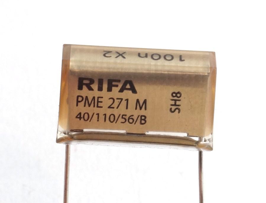 Condensateur 100nF papier métallisé pour gradateur DIGITOUR ROBERT JULIAT