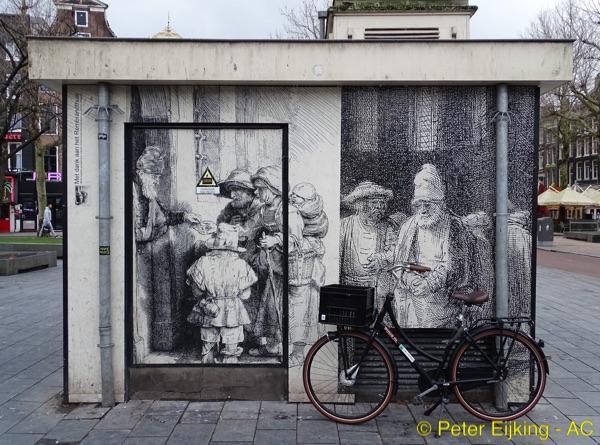 Rembrandthuisje Rembrandtplein
