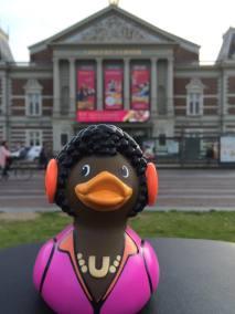 Music Lover Rubber Duck