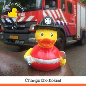 Fire brigade practicing @ Vondelpark Amsterdam. Could use some help...