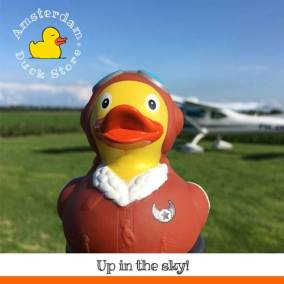 Pilot rubber duck Middenmeer Amsterdam Duck Store