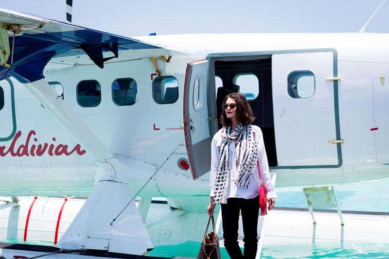 Niyama_Luxury_SeaPlane_Arrival