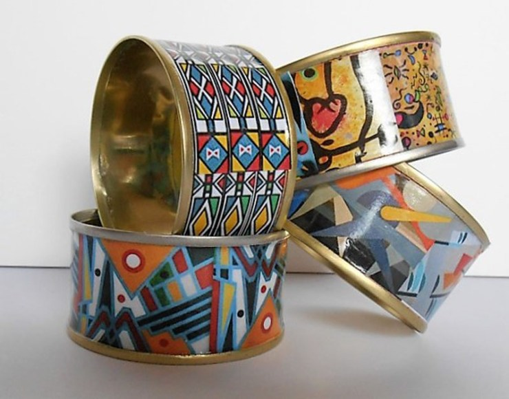Recycled Tuna Cans