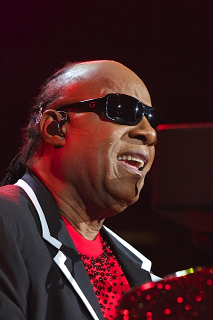 """Stevie Wonder performing last week at the Prudential Center in Newark during his """"Songs in the Key of Life"""" world tour. (169333)"""