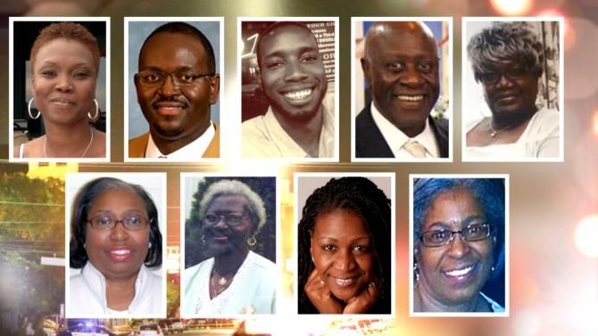 Victims of the Emanuel AME Church shooting in Charleston, S.C.: Cynthia Marie Graham Hurd,Susie Jackson, Ethel Lee Lance, Depayne Middleton, Clementa C. Pinckney, Tywanza Sanders,Daniel Simmons, Sharonda Coleman-Singleton and Myra Thompson (230549)