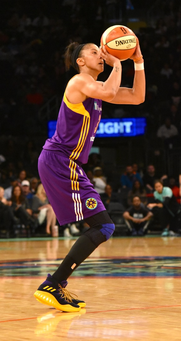Candance Parker of the Los Angeles Sparks (248389)