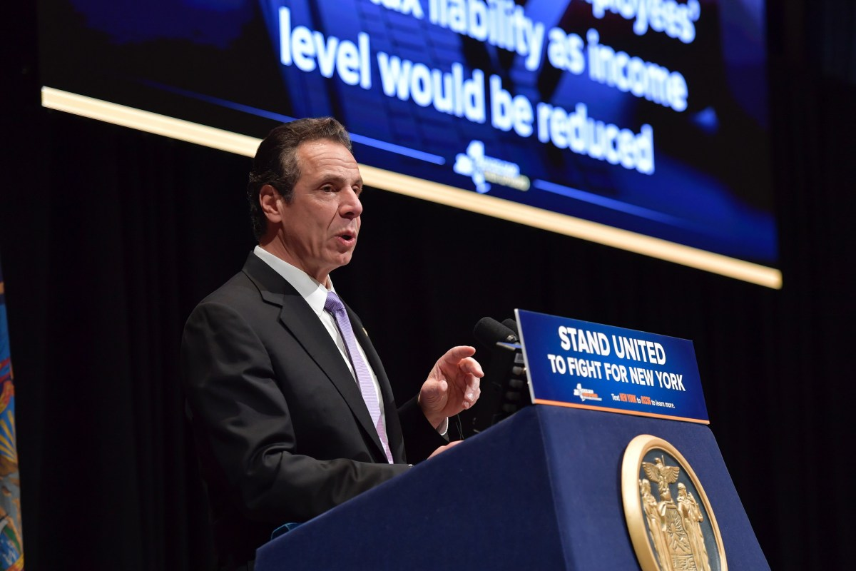 Gov. Andrew Cuomo delivers his executive budget (255051)