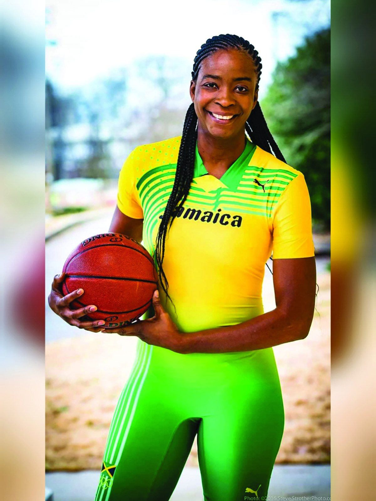 Simone Edwards earned a WNBA title with the Seattle Storm and played with and coached the Jamaican women's national team. (289834)