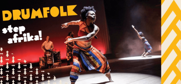 """DrumFolk:Step Africa"" (see film) (290082)"