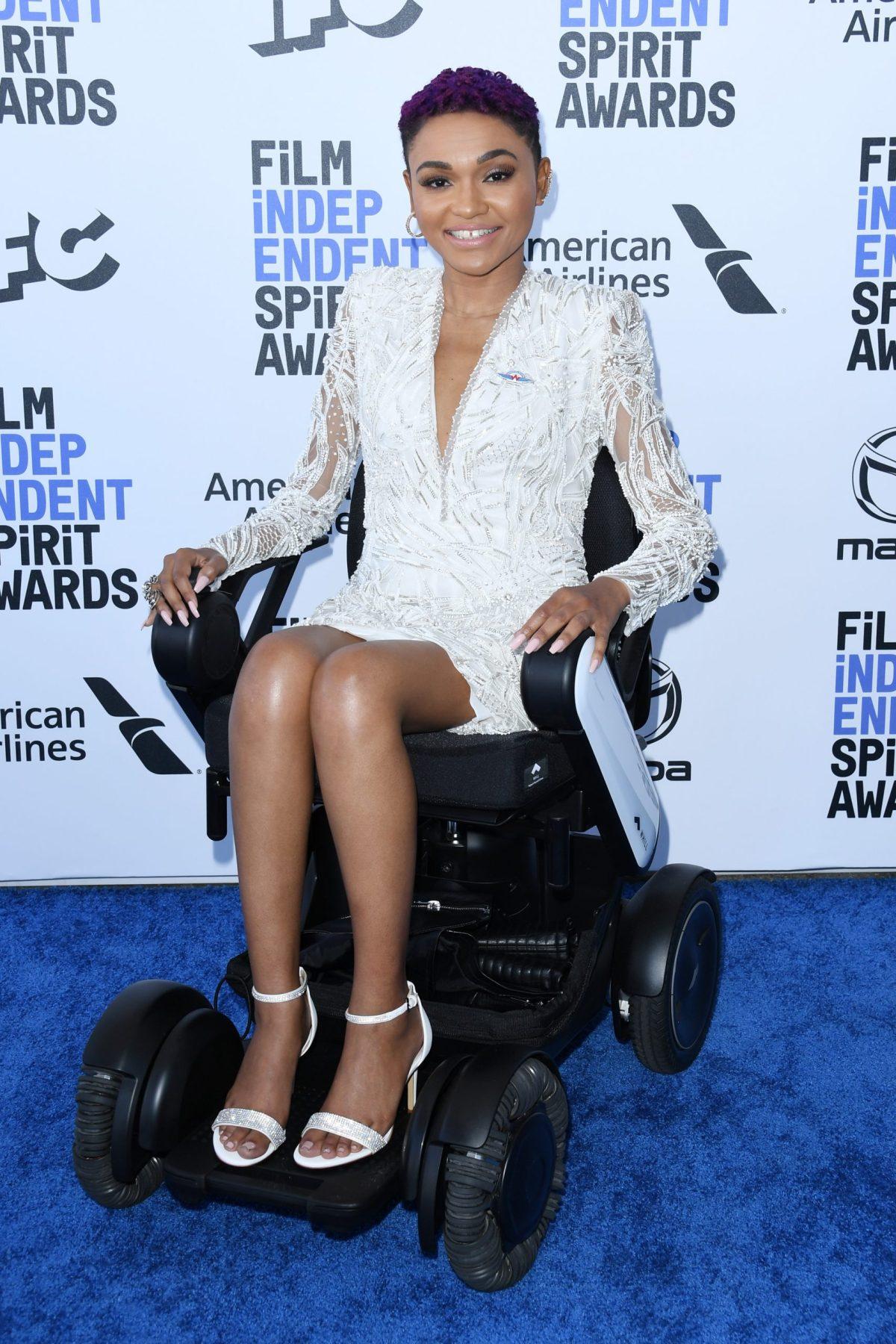 "Lauren ""Lolo"" Spencer,  2020 Spirit Awards nominee, in a Pronovias dress (291622)"