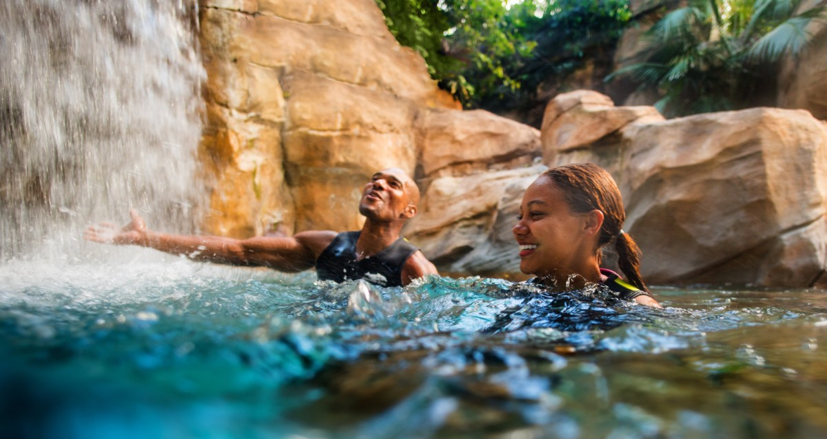 There is plenty of fun to be had at Discovery Cove in Orlando. (300606)