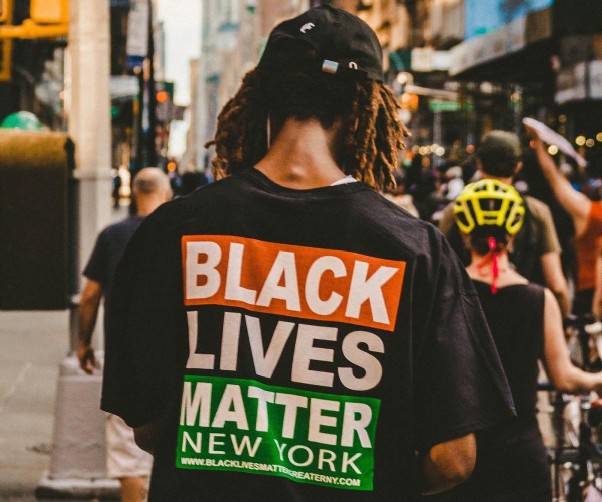 Black Lives Matter demonstrator (305585)