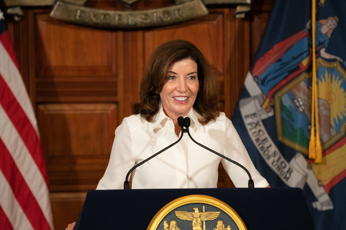 Governor Kathy Hochul holds a ceremonial swearing-in ceremony (307781)