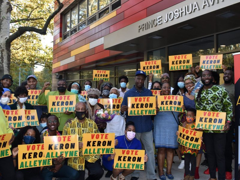 Rally in support of Keron Alleyne (309084)
