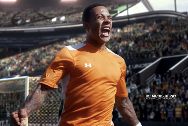 Memphis Depay Under Armour