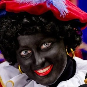 blackface zwarte piet smiling