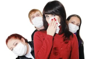 smelly second hand clothes people wearing facemasks