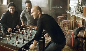 Advertising Maradona, Pelé and Zidane playing for a Louis Vuitton ad