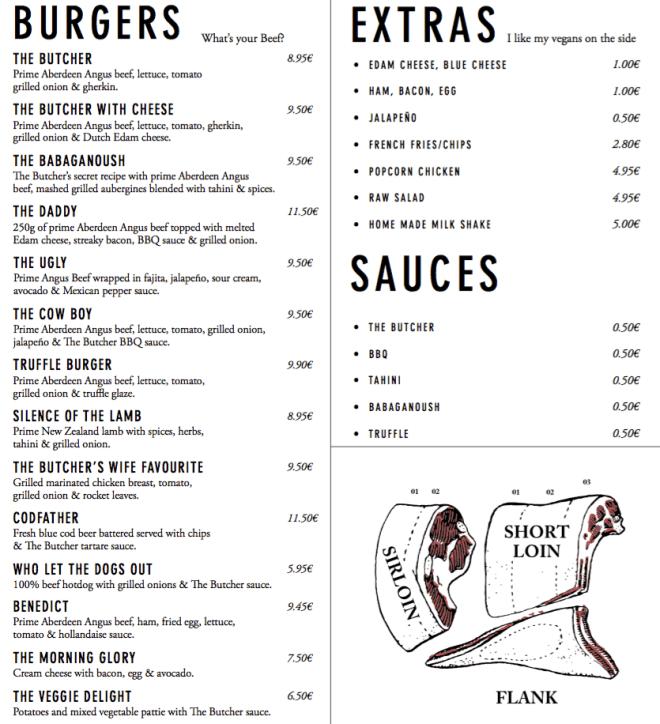 the_butcher_amsterdam_menu