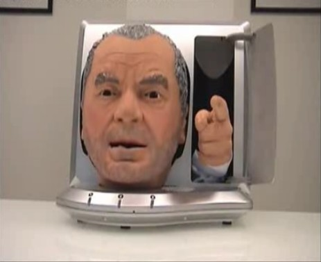 L'animatronic Sir Alan Sugar