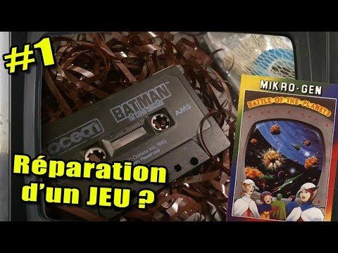 Restauration K7 #1 – RÉPARATION SIMPLE : Recopier le programme sur la cassette