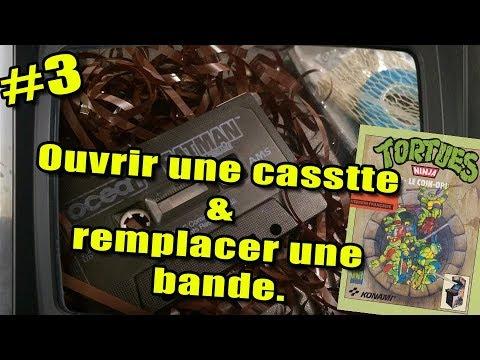 Restauration K7 #3 – REPARATION AVANCE : Transférer une bande, ouvrir une cassette proprement