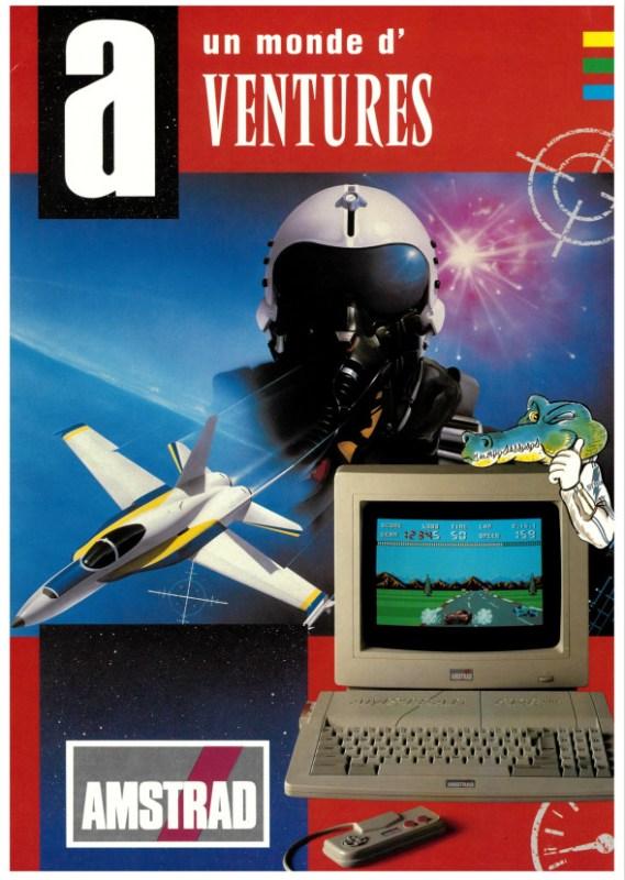 AMSTRAD PLUS GX4000 Un monde d'aventures