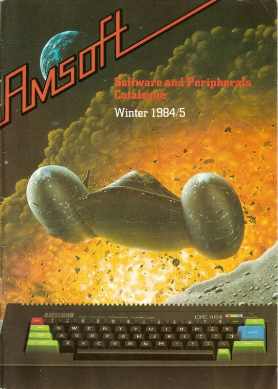 Amsoft Software And Peripherals Winter 1984-85 (uk)