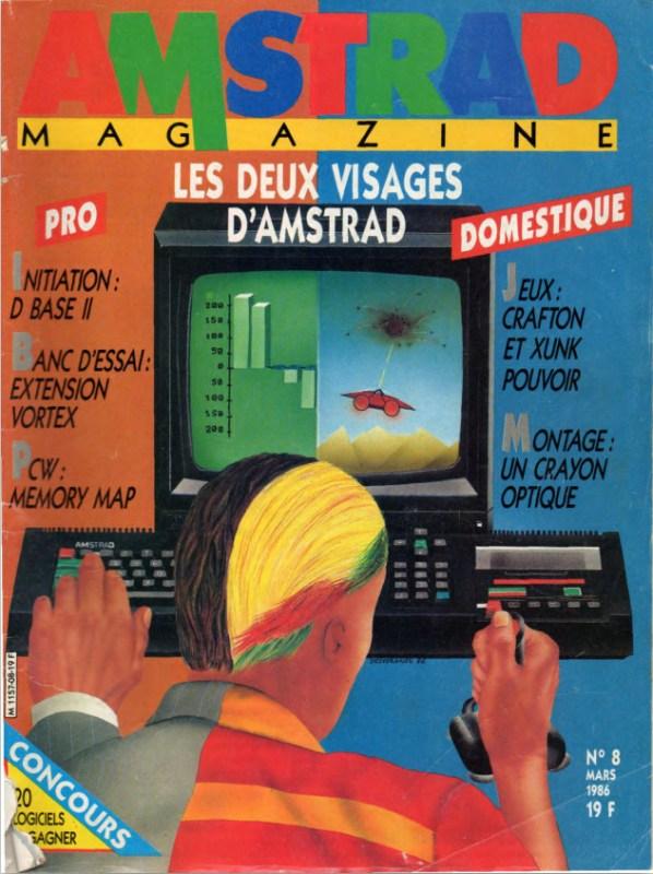 Amstrad Magazine n°08