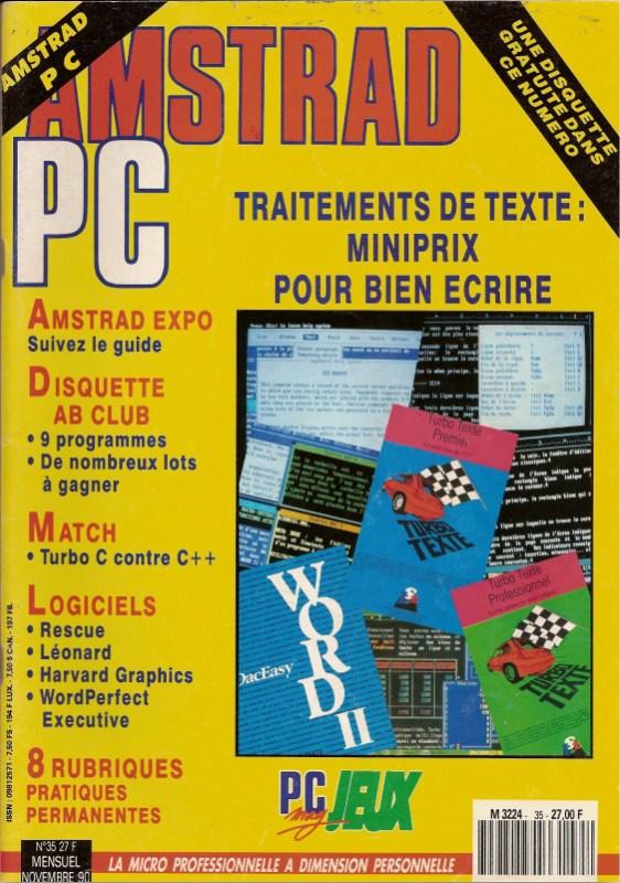 Amstrad PC mag n°35