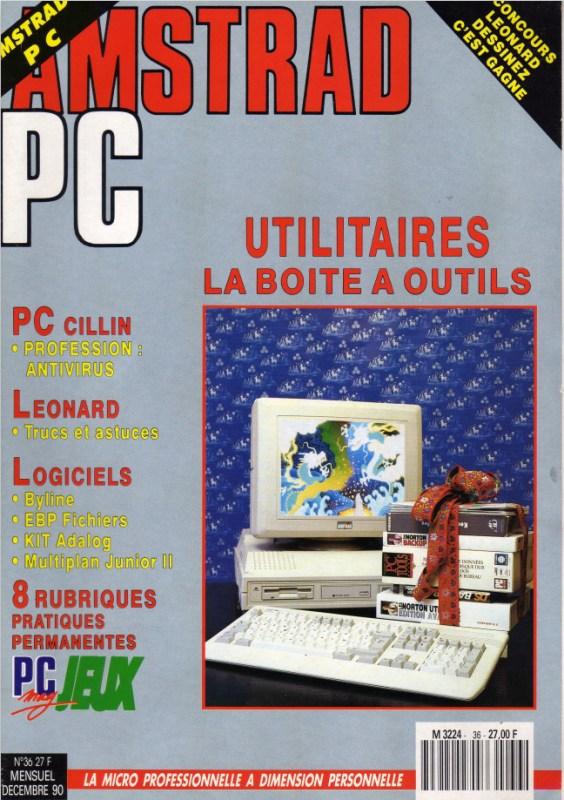 Amstrad PC mag n°36