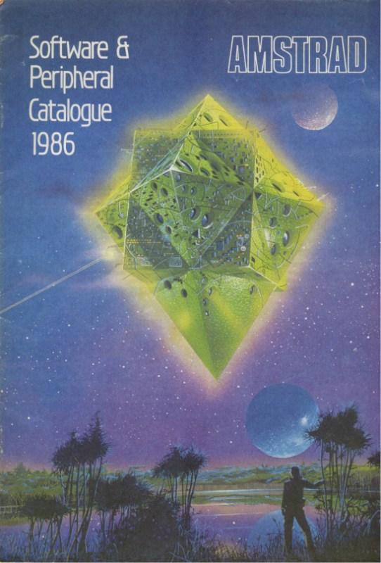 Amstrad Software & peripheral catalogue 1986